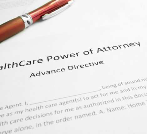healthcare power of attorney document